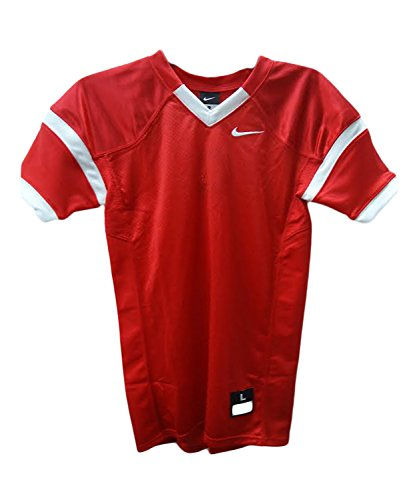 Nike Kids Boys Football Sports Jerseys (Large, Red)