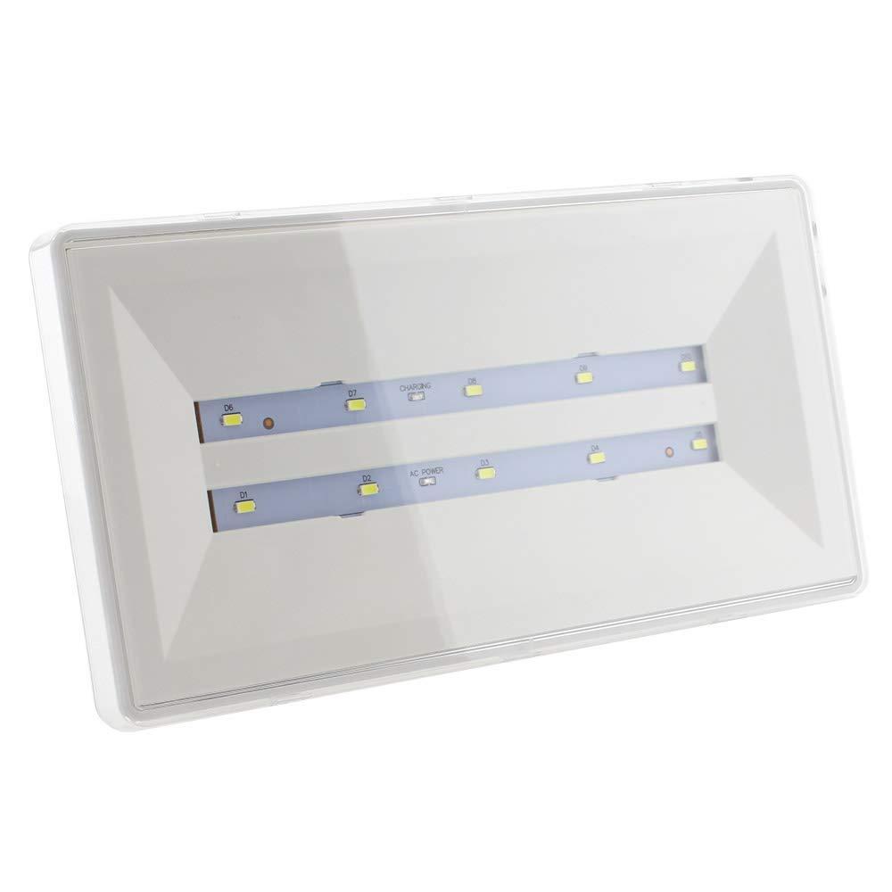 Blanco fr/ío Permanente//No permanente Luz de emergencia LED WALLUX