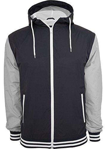 tone Sweatjacket giacca Blu 2 Classics Urban College Marino grigio Uomo EwAP1xq