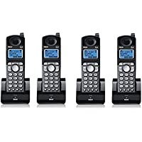 RCA 25055RE1 Dect 6.0 Cordless Expansion Handset 2-Line Landline Telephone - 4 Pack