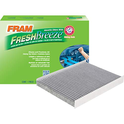 FRAM CF12161 Fresh Breeze Cabin Air Filter with Arm and Hammer