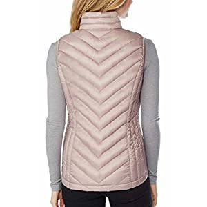 32 DEGREES Womens Packable Vest, LT Blush, Medium