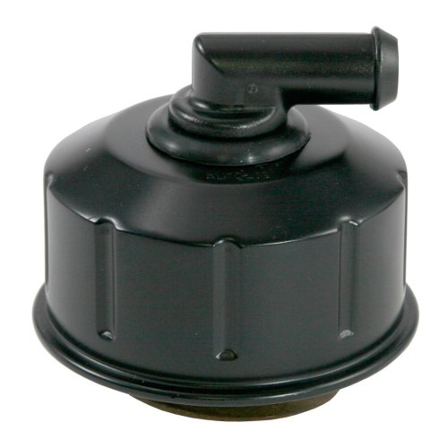 MUSTANG SCOTT DRAKE OIL CAP BLACK TWIST-ON STYLE WITH PCV ELBOW ()