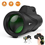 Best Monoculars - Monocular Telescope, JUZIHAO 12X50 HD Low Night Vision Review