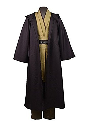 Cosparts®Obi-Wan Classic Cosplay Robe Tunic Costume (US Size Man -