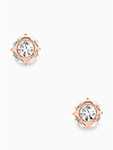 e0cade9b2 Amazon.com: Kate Spade Lady Marmalade Rose Gold Stud Crystal Earrings:  Jewelry