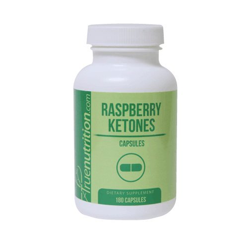 True Nutrition Raspberry Ketones 125mg Capsules (180 Capsules) by True Nutrition