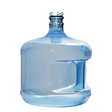 90723d8286 Amazon.com: 3 Gallon Plastic Bottle - Small Stubby BPA Free: Bottled Drinking  Water: Kitchen & Dining