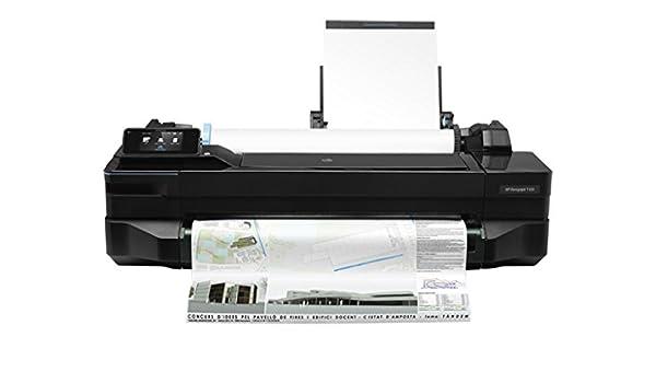 HP Designjet T120 - Impresora de gran formato (9.3 m/p, 16.3 m/p, 1200 x 1200 DPI, PCL 3, Negro, Cian, Magenta, Amarillo, A1 (594 x 841 mm)): Amazon.es: Informática