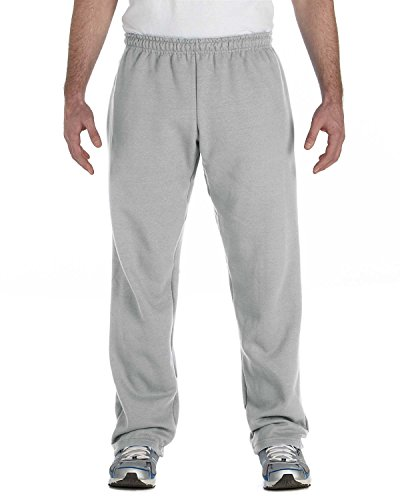 Gildan Activewear Heavyweight Blend Open Bottom Sweatpants, 5XL, Sport - Sweatpant Open Bottom Heavyweight