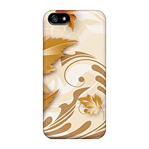 New Falls Golden Shine Cases Compatible With Iphone 5/5s