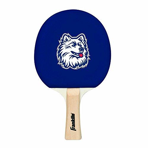 Franklin Sports NCAA Connecticut Huskies Collegiate Table Tennis Paddle Set