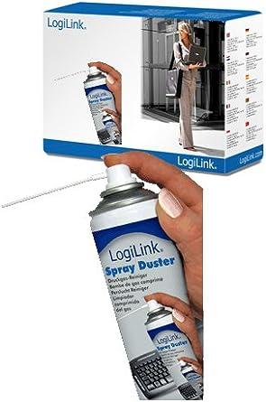 LogiLink aire comprimido plumero - 400 ml - para limpiar de ...