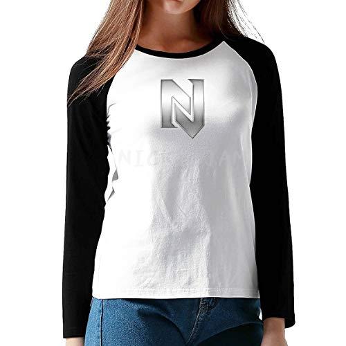 Minzhaooo Women Nicky Jam Sport Shirt XXL Black