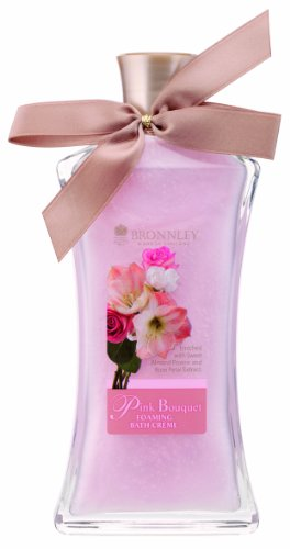 Bronnley Pink Bouquet Foaming Bath Cream 250ml