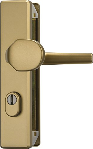 ABUS KLZS714 F4 EK 08425 Door Knob and Handle Door Fitting with Cylinder Protection Rectangular