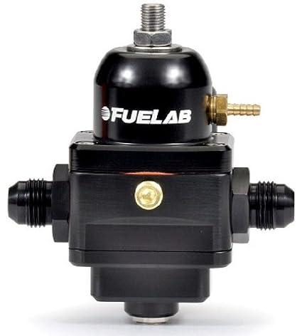 Fuelab 52902-1 Black 25-90 PSI Electronic Fuel Pressure Regulator