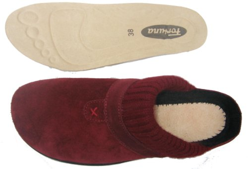 Fortuna 429039-02 Diana Strobel women shoes for home Leather bordeaux Bordeaux AjiazhEDdR