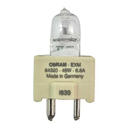 OSRAM 6.6A 45T35 64320 EXM, 45W Current Controlled Halogen Airfield Lamp
