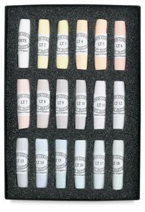 Jack Richeson Unison Pastel Light Colors, Set of 18 by Jack Richeson