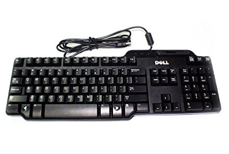 - Genuine Dell SK-3205 104 Key Wired USB Keyboard KW240, NY559, KW218 With Smart Card Reader (Drivers Included), And Palm Rest