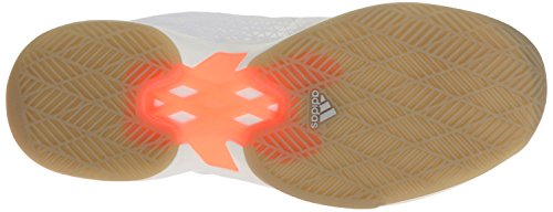 adidas Frauen Adizero Ubersonic 2w Tennisschuhe Weiß / Metallic Silber / Leuchtorange