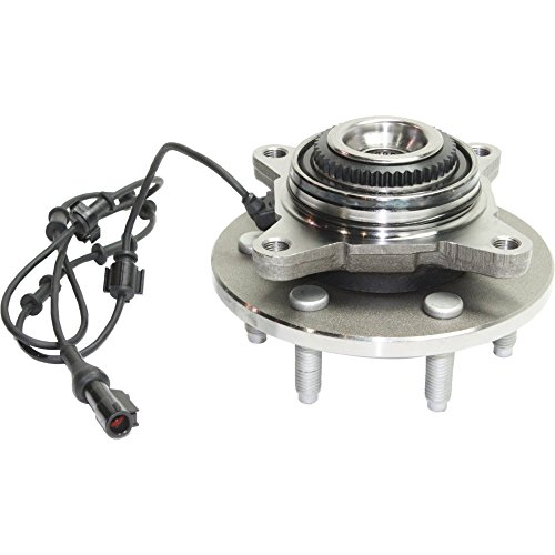 Price comparison product image EvanFischer EVA165828824 Front Wheel Hub Assembly with ABS sensor