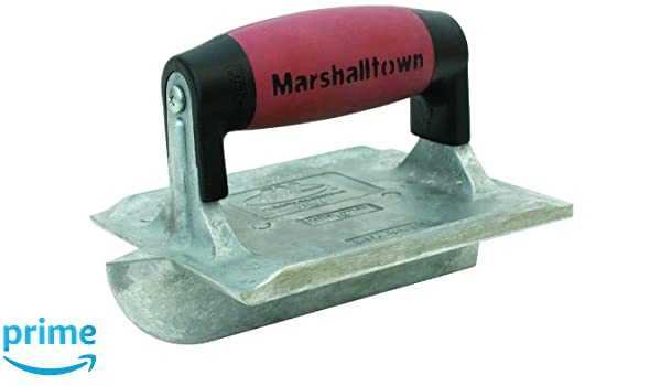 MARSHALLTOWN The Premier Line 866D 3//8-Inch Depth by 5//16-Inch Wide DuraSoft Handle 6-Inch by 4 3//8-Inch Zinc Groover