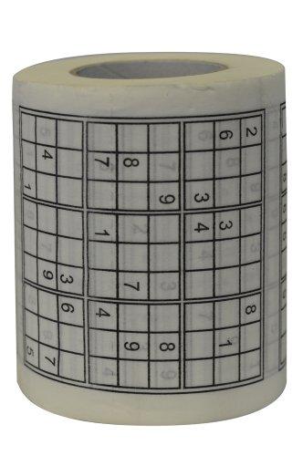 Novelty Toilet Paper (Fairly Odd Novelties Sudoku Puzzle Game Roll Novelty Toilet Paper)
