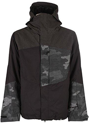 Ride Snowboards 2014/15 Men's Georgetown Insulated Jacket (Black - L) - Ride Georgetown Jacket