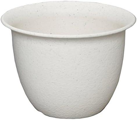 アイリスオーヤマ 鉢 和彩 中鉢 7号 白砂