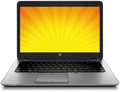 Portátil HP (840 i5 – 4, Gen. 1600 x 900 TN) de EliteBook, resolución sin cámara con Backlight (Certificado y revisado) 8 GB RAM-250 GB SSD