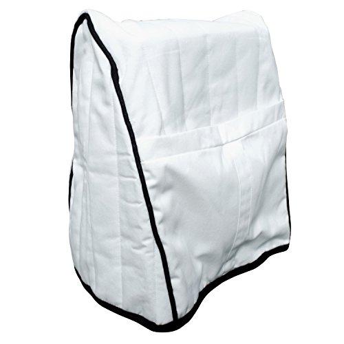 Univen Cloth Mixer Cover fits KitchenAid Mixers White