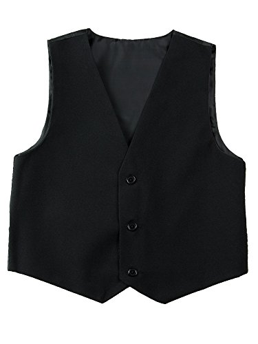 Spring Notion Big Boys' Modern Fit Dress Suit Set 6 Black by Spring Notion (Image #2)