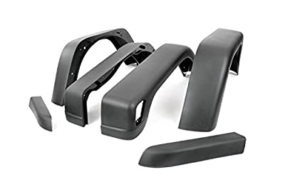 Rough Country - 1031 - 6.5-inch Wide Fender Flares for Jeep: 97-06 Wrangler TJ 4WD, 04-06 Wrangler Unlimited LJ 4WD