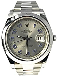 Datejust II automatic-self-wind mens Watch 116300 (Certified Pre-owned)