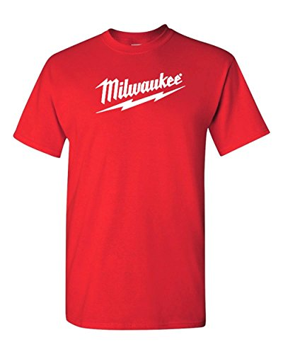 Milwaukee Tools Men's Logo T-Shirt (L, Red)