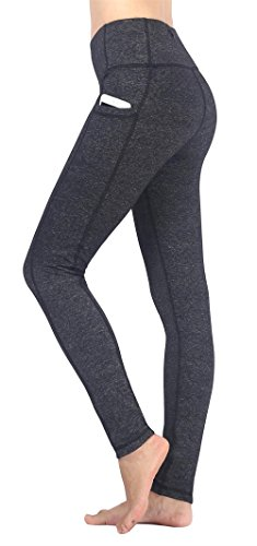Flatik Women's Activewear Workout Yoga Pants Exercise Leggings with Side Pocket