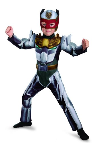 Disguise Power Rangers Megaforce Robo Knight Muscle Costume, 2T