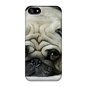 Case Cover, Fashionable Iphone 5/5s Case - Lonely Little Pug