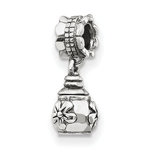 (925 Sterling Silver Charm For Bracelet Floral Ash Dangle Bead Fine Jewelry Gifts For Women For Her)