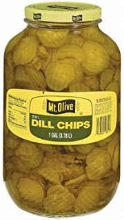 product image for Mt. Olive Thin Dill Chips - 1 gal. jar. (pack of 3) A1