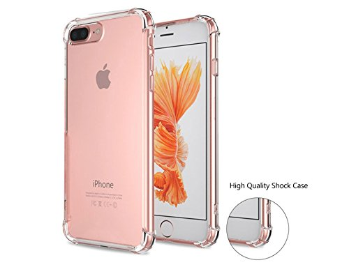 iPhone 7 Plus Case, ICESMART Crystal Clear TPU ...
