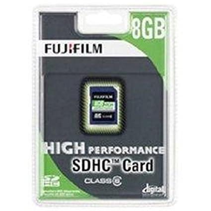 Fujifilm 8GB SDHC Karte Tarjeta de Memoria (8 GB, Secure ...