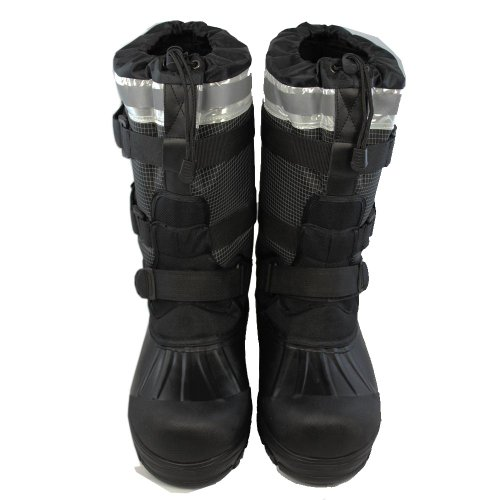 Kälteschutzstiefel, FOX-XTREME mit Gummisohle, schwarz, Größe 47