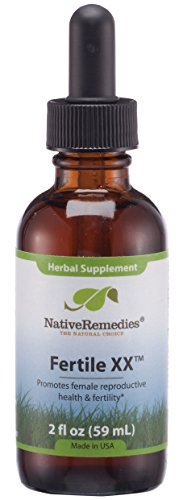 Native Remedies Fertile XX – All Natural Herbal Supplement Supports Female Reproductive Health, Fertility and Natural…