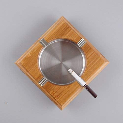 葉巻灰皿, 竹竹木製灰皿家庭用シリンダーレトロブティッククリエイティブ人格高級ギフト