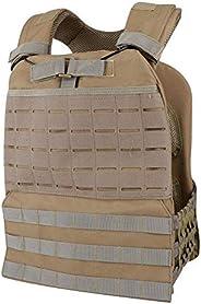Viking Battlegear, Tactical Molle Vest, Airsoft Paintball CS Breathable and Quick Release Versatile Vest