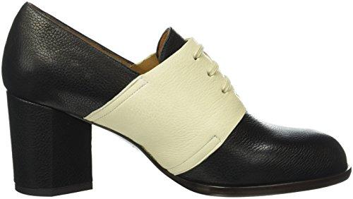Jansen Black Leche Derby Chaussures Noir Mihara Humo jansen Femme Chie xBfUwnqYz0