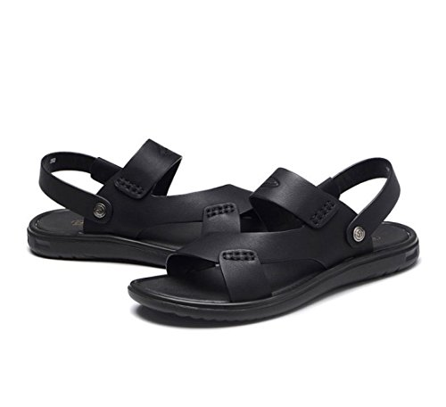 da Antiscivolo Pantofole Scrubs Scarpe Sandali Casual Black LEDLFIE Uomo Spiaggia Uomo da da Bwxqx5PIc6